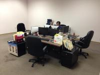 During the transition, we shifted from cubicles into startup mode.