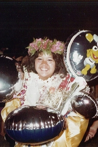 Michelle graduates with the Kaiser High School Class of 1984.