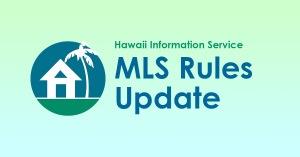 MLS Rules Update